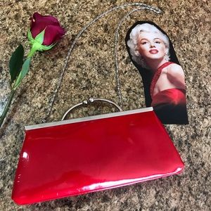 Chinese Laundry Red Clutch